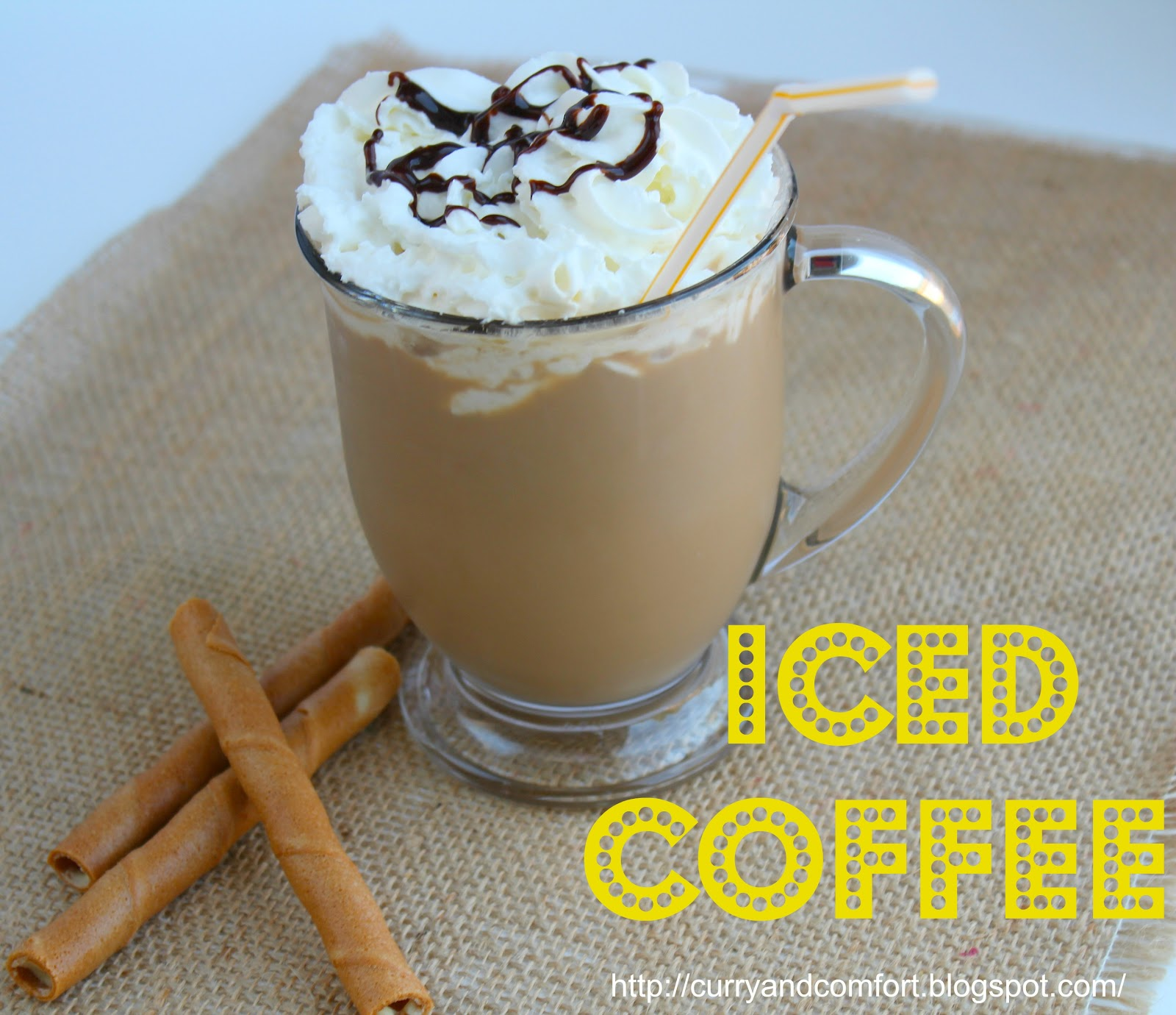 Ice+Coffee+text Iced Coffee Recipe At Home