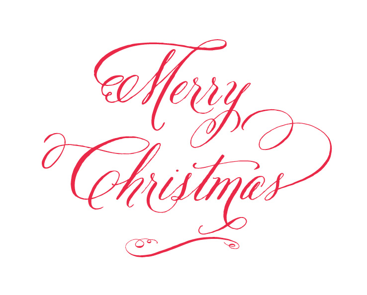 Clean image with printable christmas signs