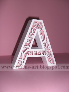 3D Letters 5     wesens-art.blogspot.com