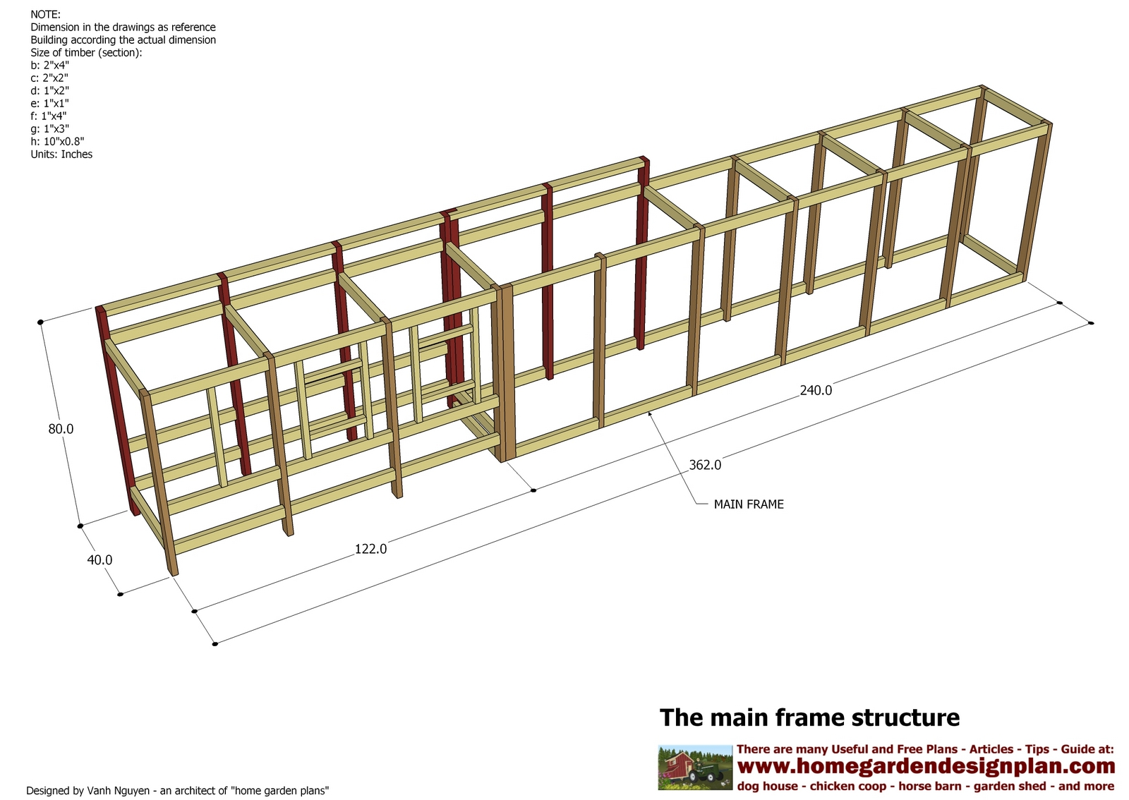 Home garden plans s200 chicken coop plans construction for Chicken coop plans free pdf