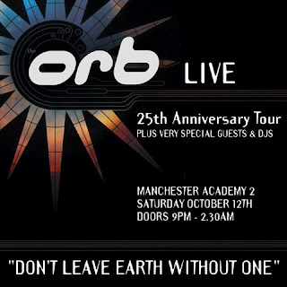 The Orb Live – 25th Anniversary Show Saturday October 12th 2013