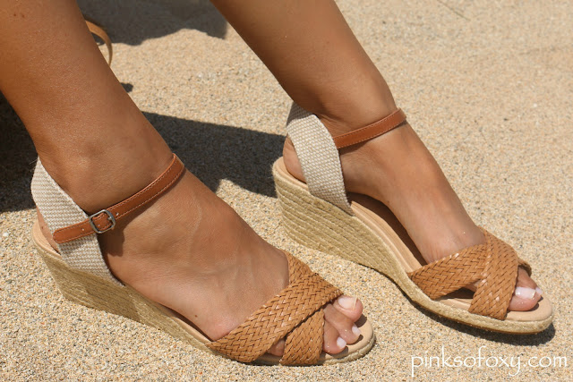 Lucky Brand Espadrille Wedges