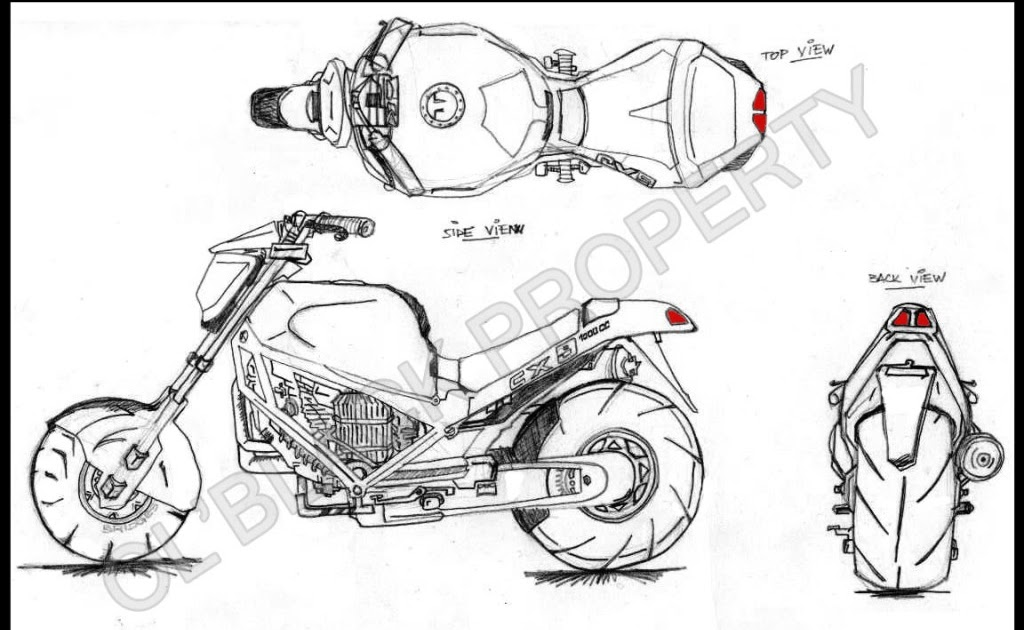 Worx Blueprint For A Bike Modelling