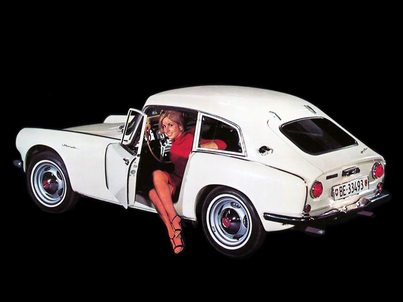 Honda S600, sports, japoński sportowy samochód, coupe, klasyk, stary, 日本車, スポーツカー, クラシックカー, ホンダ