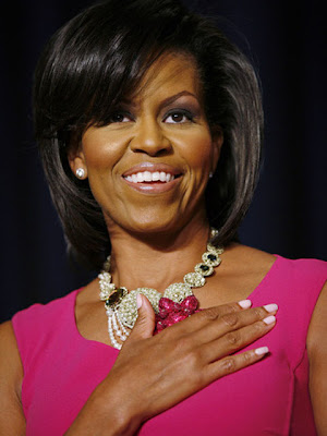 Michelle Obama Diamond Collar Necklace