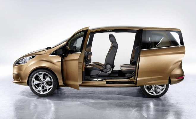 Ford B-Max with doors open