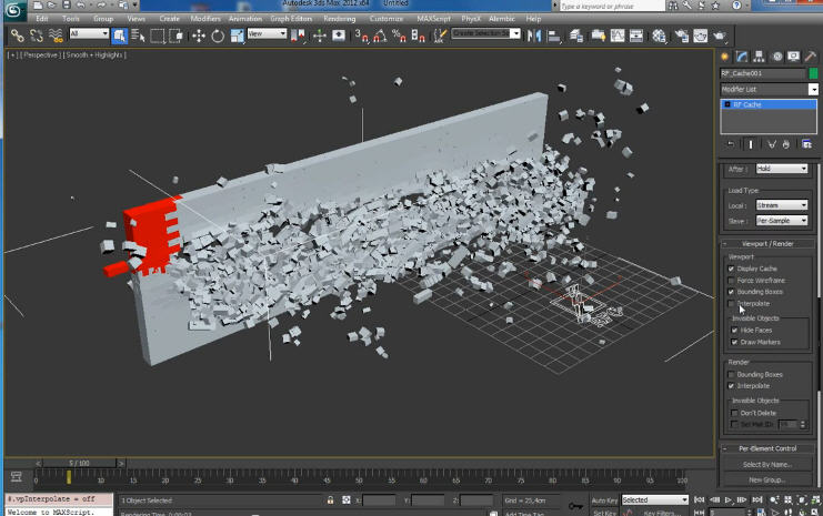 RayFire 1.61 plugin for 3ds Max 2009 - 2013