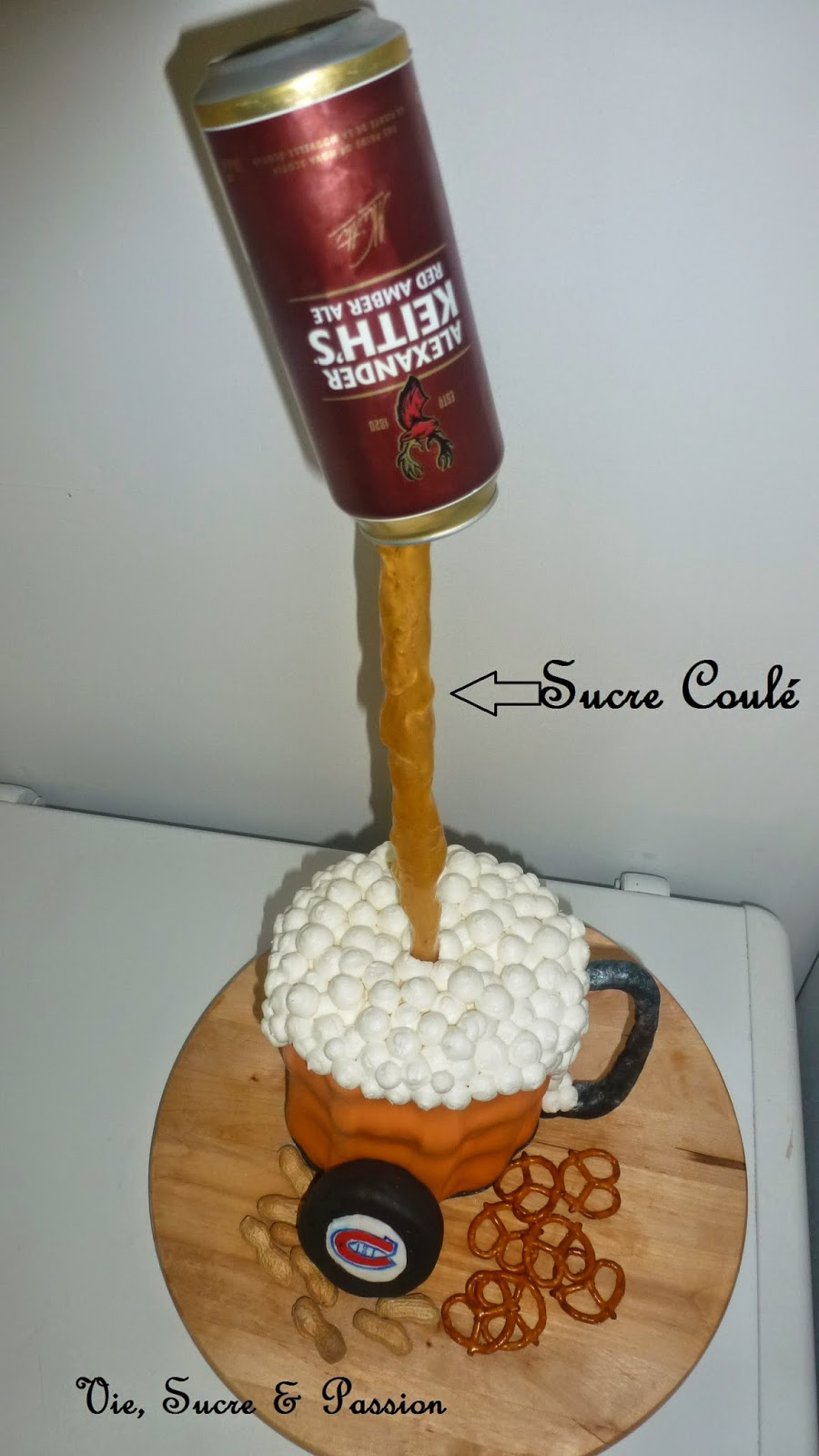 Comment réaliser une Coulée de bière en sucre coulé