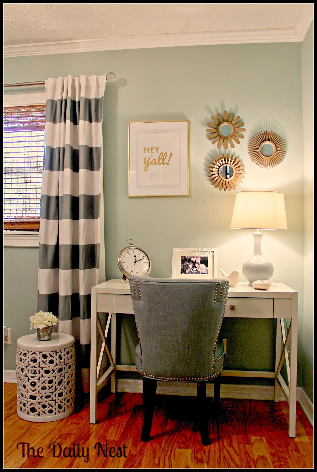 Two it yourself link it or lump it link party 27 plus for Wall art ideas for office