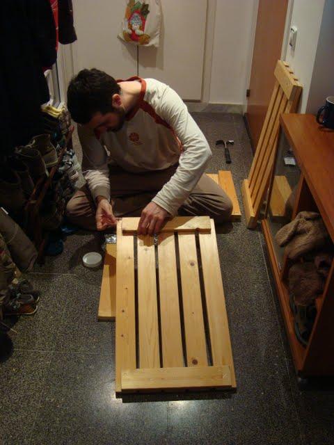 Mientras duerme mi monstruito: Labores invitadas: El carpinterito