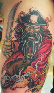Tatuagem de Pirata