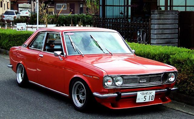 Nissan Bluebird 510  日本車 日産 ダットサン