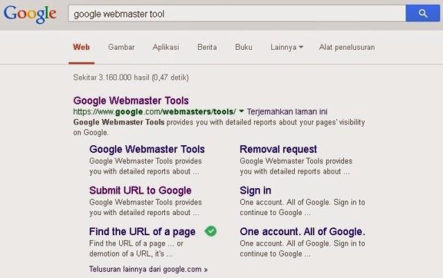 Tambahkan ke Index Google1