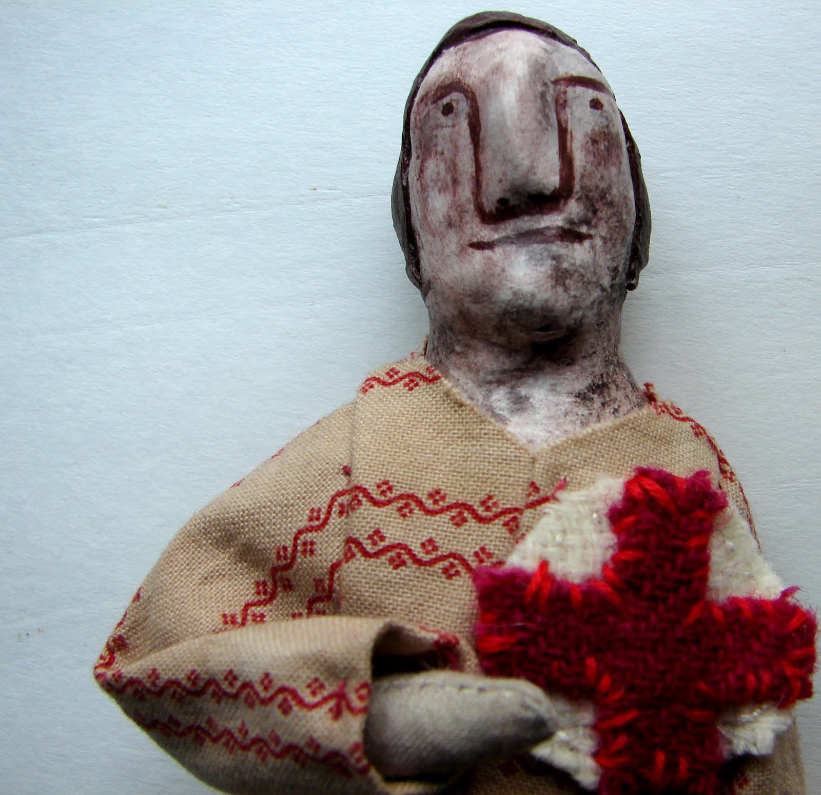 I make folk dolls...