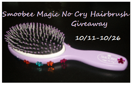 Smoobee Magic No Cry Hairbrush