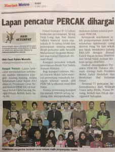 PERCAK DI METRO 08.05.2013