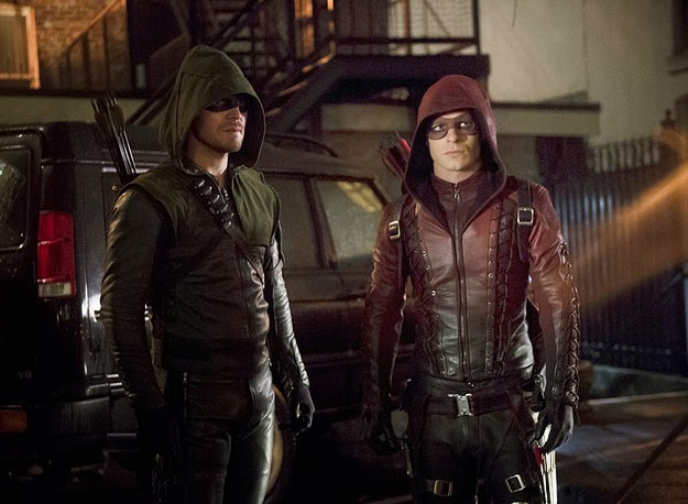 Arrow - ******* Exits as Series Regular