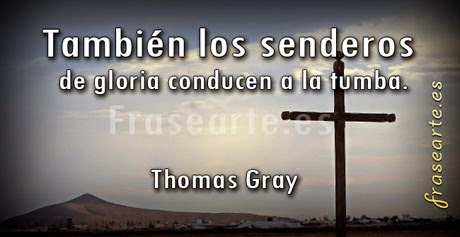 Frases famosas de Thomas Gray