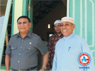 Farouk Muhammad  Kunjungi Ponpes Al-Maliki