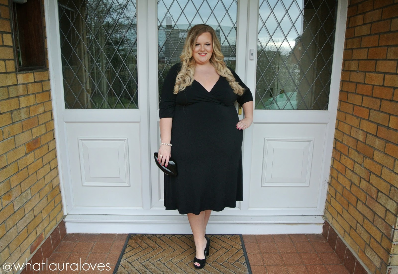 Monroe Knows Chloe Plus Size Dress LBD