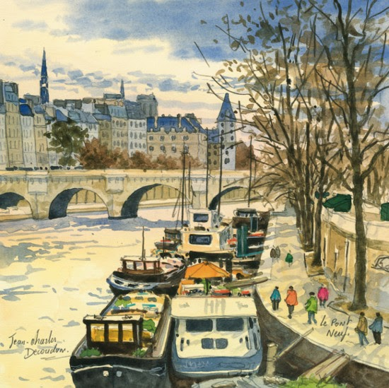 Jean Charles Decoudun Les ponts de Paris