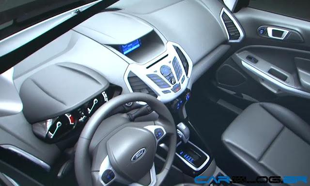 Novo Ford EcoSport 2013 - interior - bancos