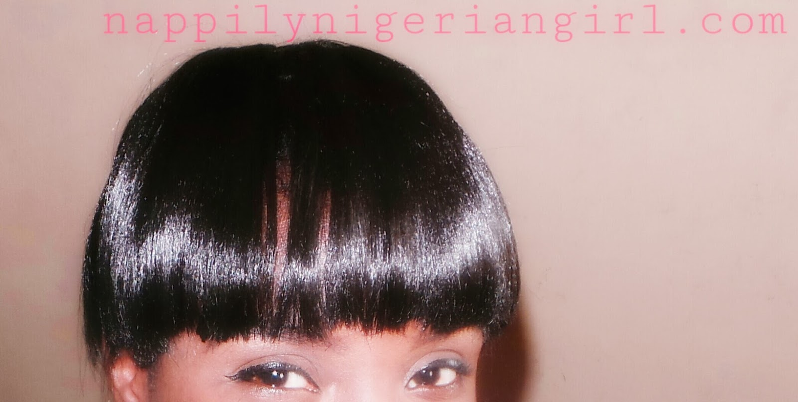 Straight Crochet Braids With Bangs Nappilynigeriangirl: using ...