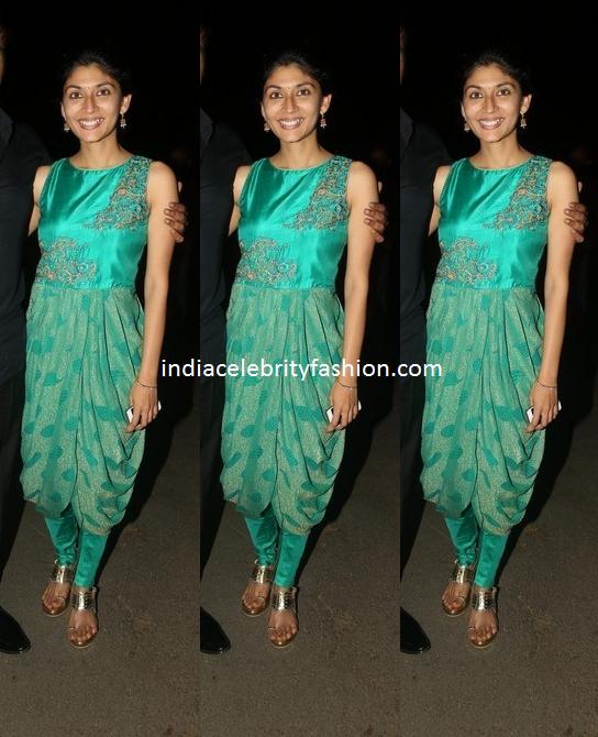 Pranitha Reddy Manchu in Dhoti style Kurti