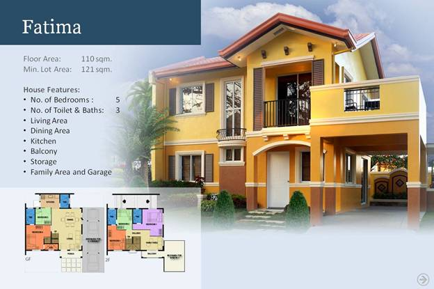 Sofia model house camella homes