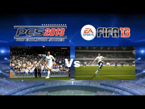 PES 2013 vs FIFA 13 Game