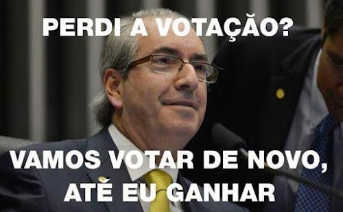 Melhores memes sobre afastamento do Cunha