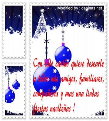 Mensajes originales para enviar saludos navideños