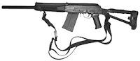 Saiga-12 combat shotgun