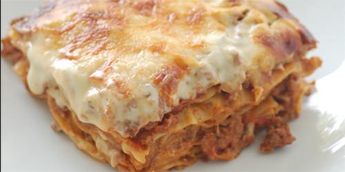 recetas de cocina lasana bolonesa