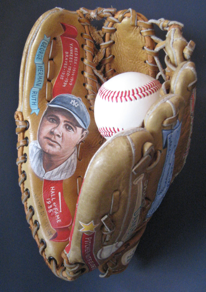 Babe Ruth memorabilia by Sean Kane