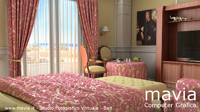 Arredamento di interni mobili 3d arredamento camera da letto classica matrimoniale con - Interior design camera da letto ...