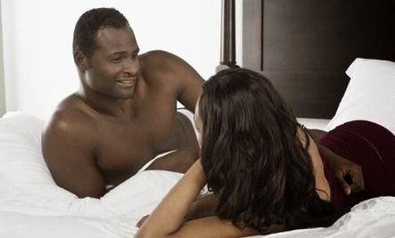 How to End a Sexual Dry Spell - black man woman couple sex bed love romance