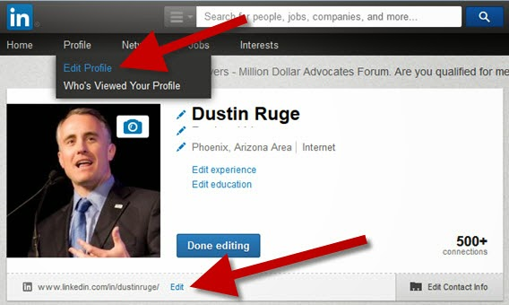 How To Personalize LinkedIn URL Address