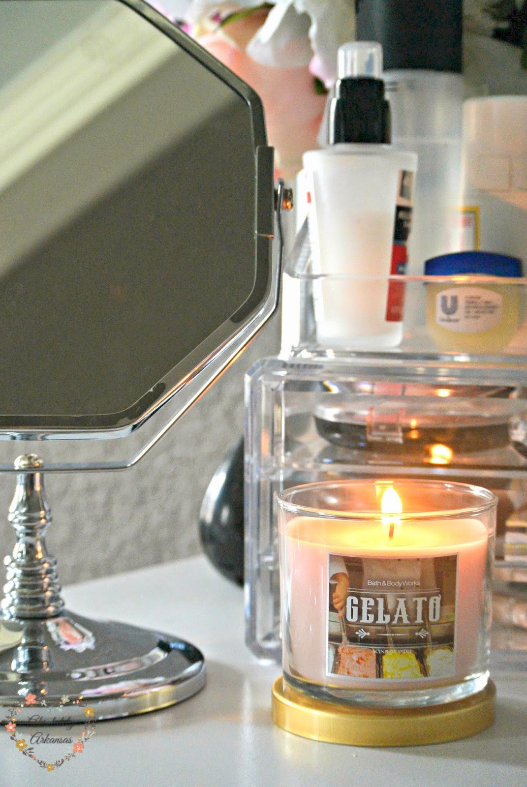 bath and body works gelato candle