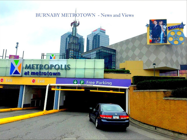 METROPOLIS SHOPPING CENTRE - Burnaby Metrotown - Oct 2015