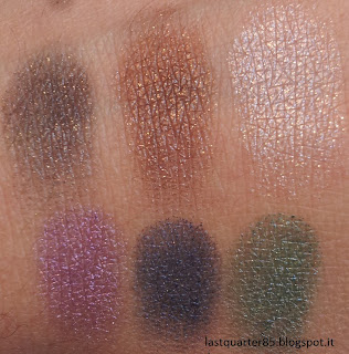 Kiko Dark Heroin Colour Impact Eyeshadow Palette in 04 Rain Smoky Shades.