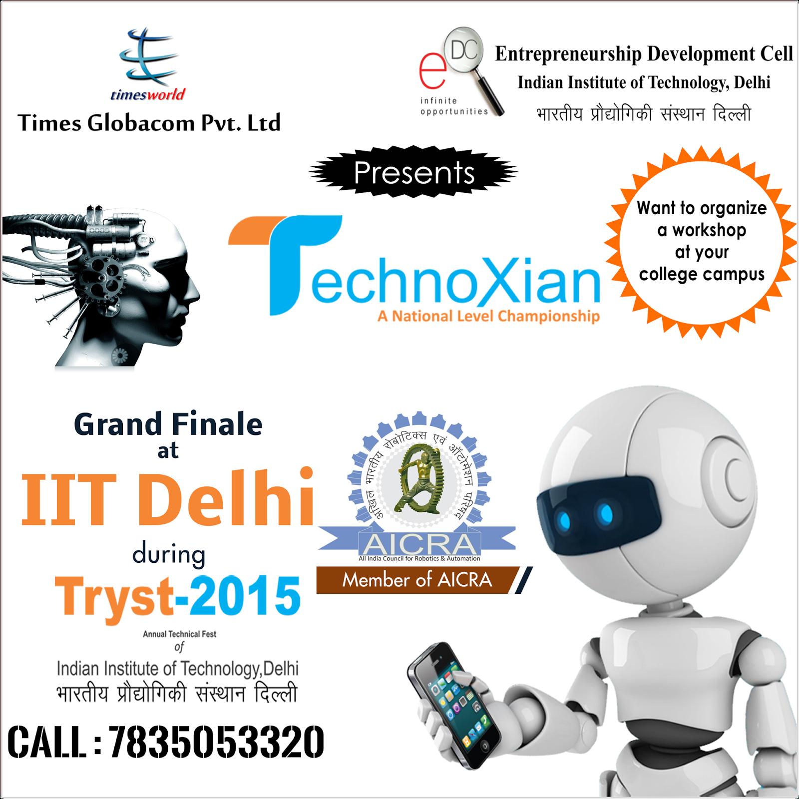 Technoxian Technoxian Robotics Competition In India
