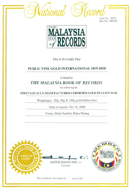 Publicgold The Malaysia Book Of Records