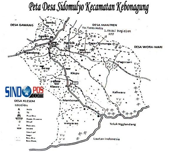 Profil Desa & Kelurahan, Desa Sidomulyo Kecamatan Kebonagung Kabupaten Pacitan