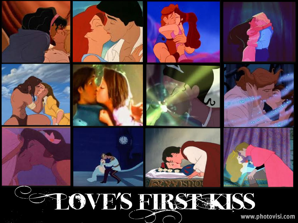 Cartoon Characters Kissing Each Other : Speak the truth in love disney kisses