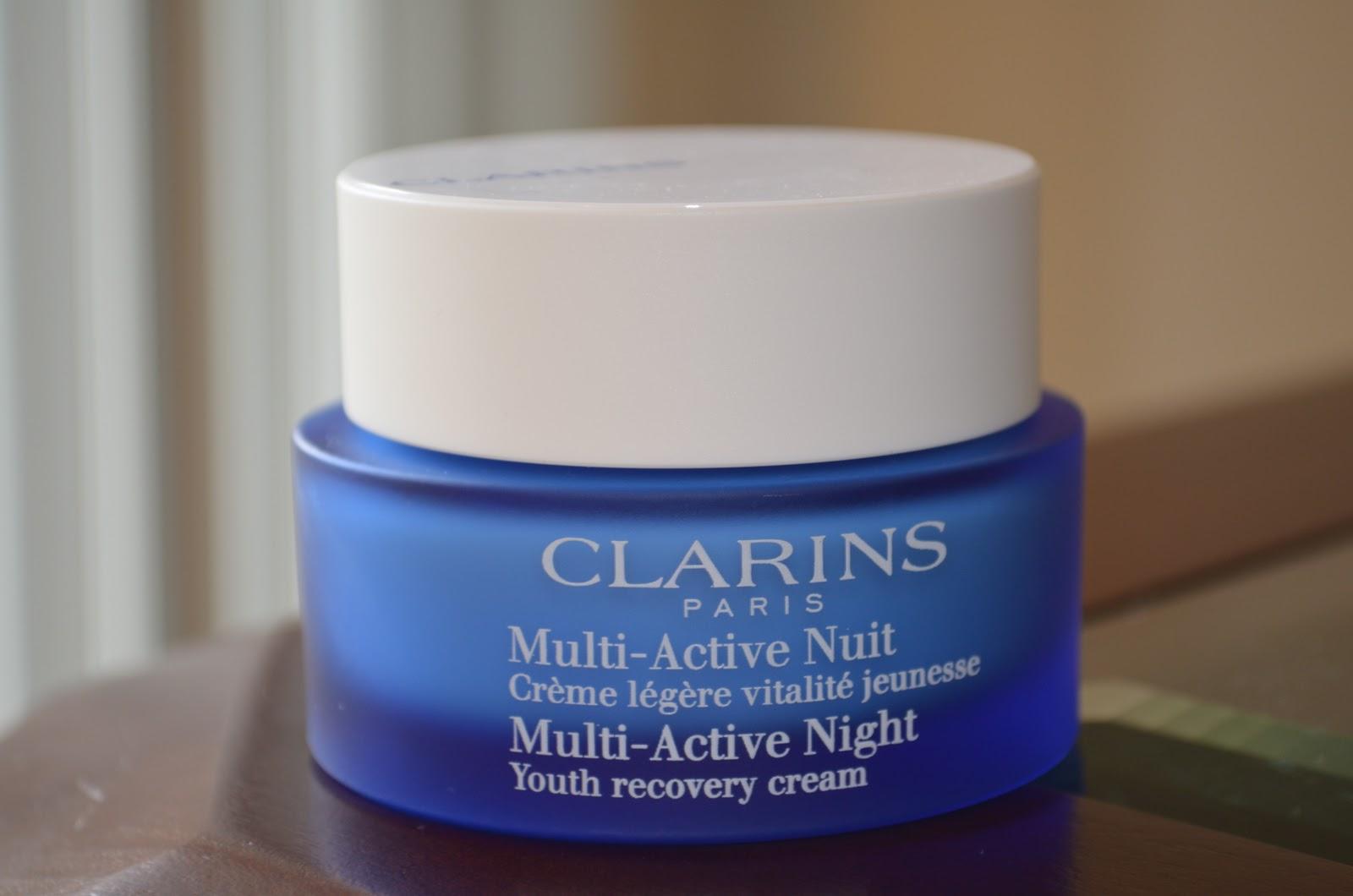 clarins multi active night cream
