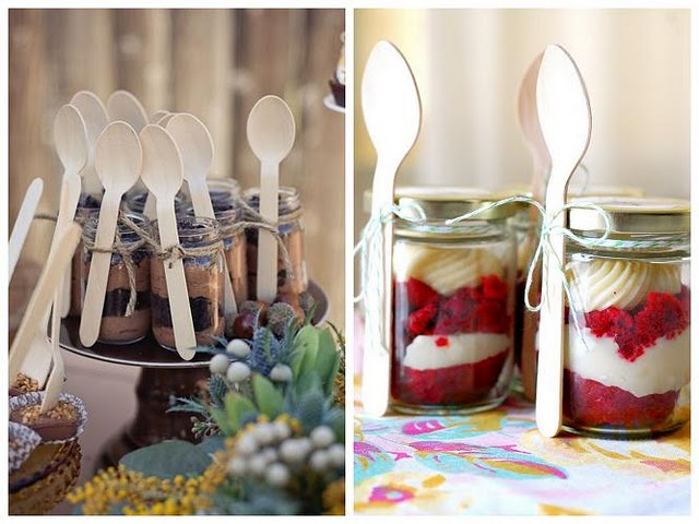 Platinum touch events decor idea mason jars for Decoration retro cuisine