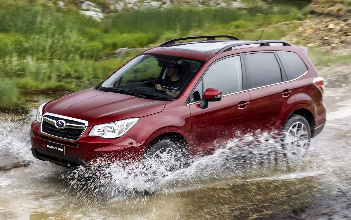 We Drive A Subaru Forester 2.5is