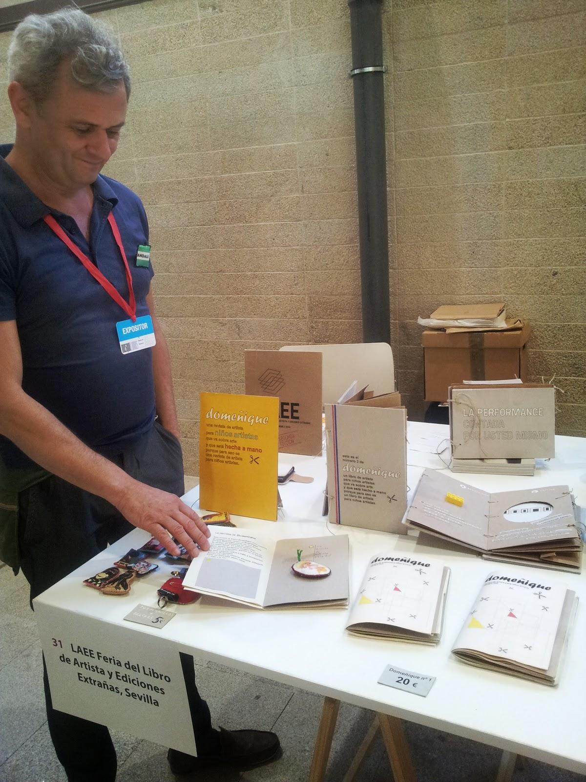LAEE Feria del Libro de Artista y Ediciones Extrañas