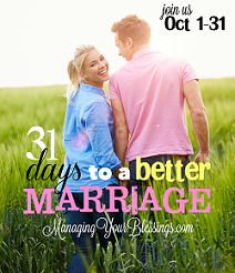 2014 - 31 Days to a Better Marriage